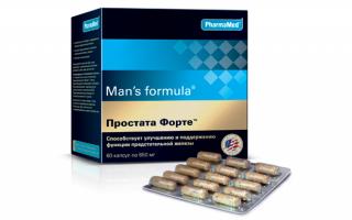 Простата Форте: описание препарата, аналоги, отзывы мужчин