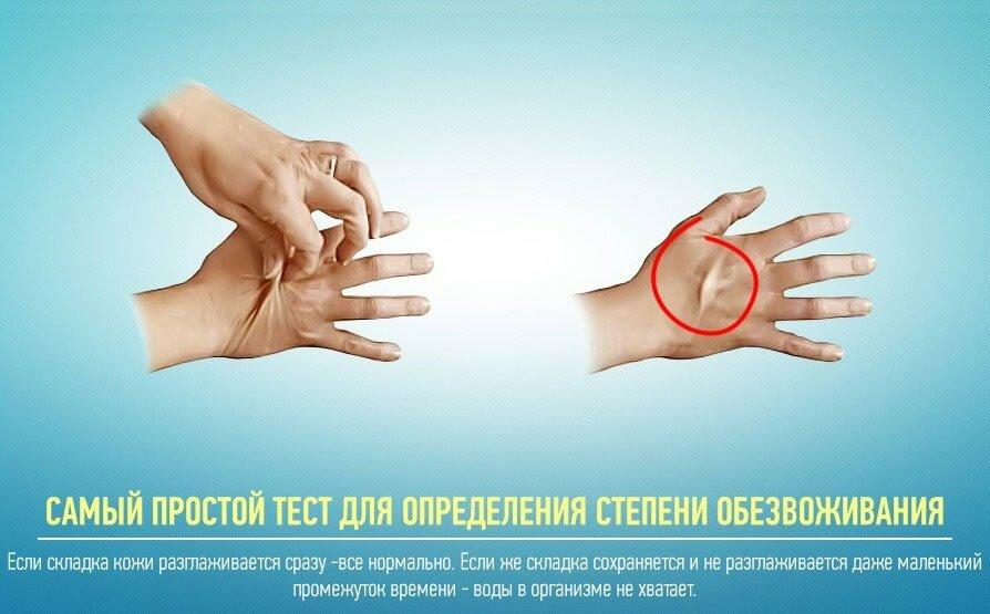 Обезвоживание - причина комков в сперме