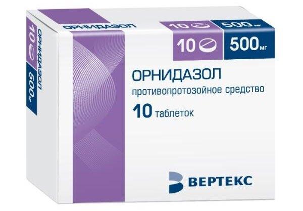 Орнидазол для лечения выделений из уретры