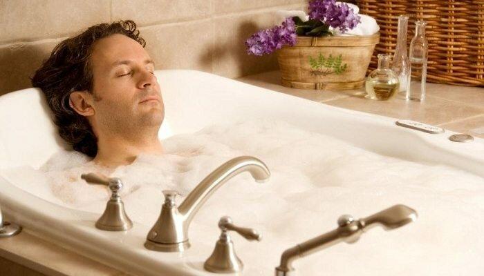Как можно принимать ванну при простатите