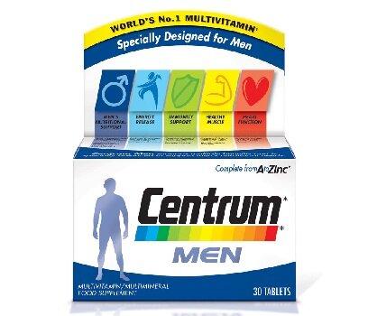 Витамины для мужчин Центрум