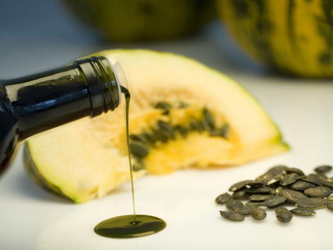 Как лечить аденому простаты тыквенным маслом