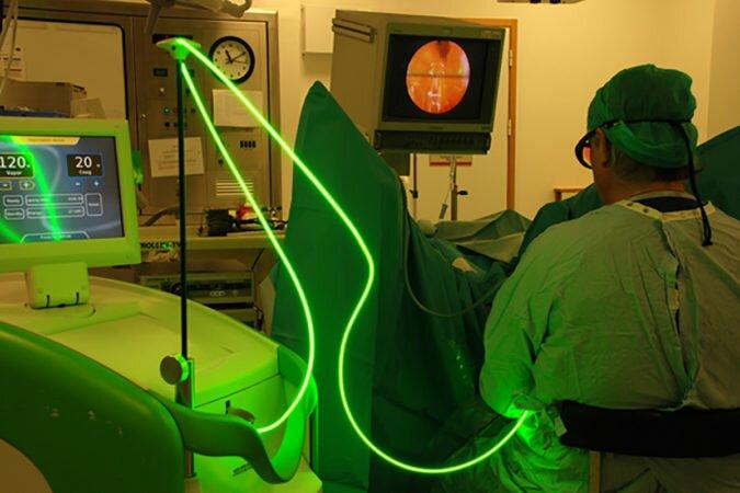 Как проводится лазерная резекция аденомы