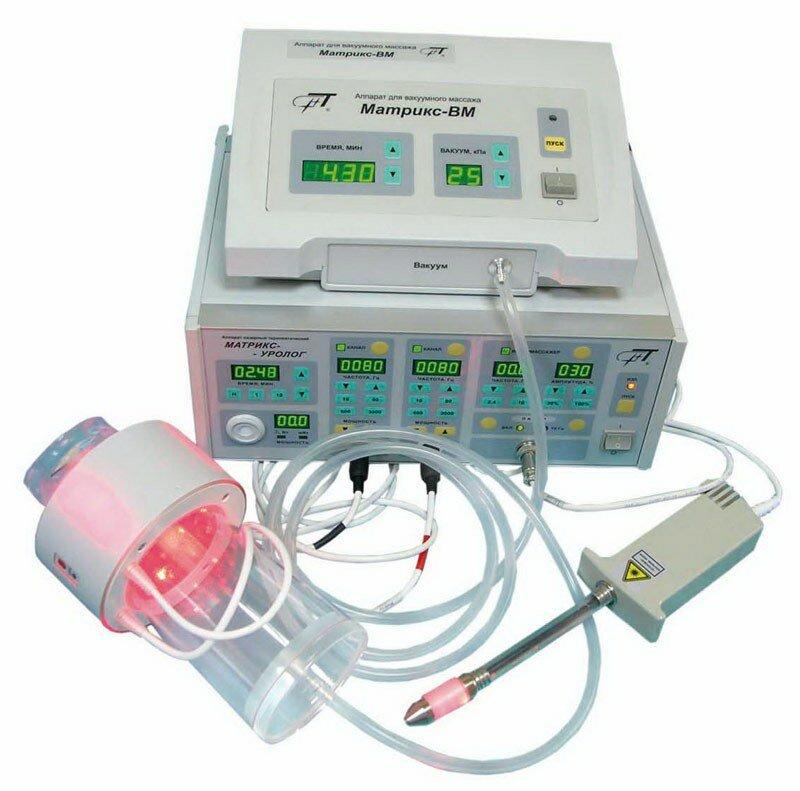 цена лечения простатита лазером