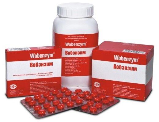 Форма выпуска и состав Вобэнзим